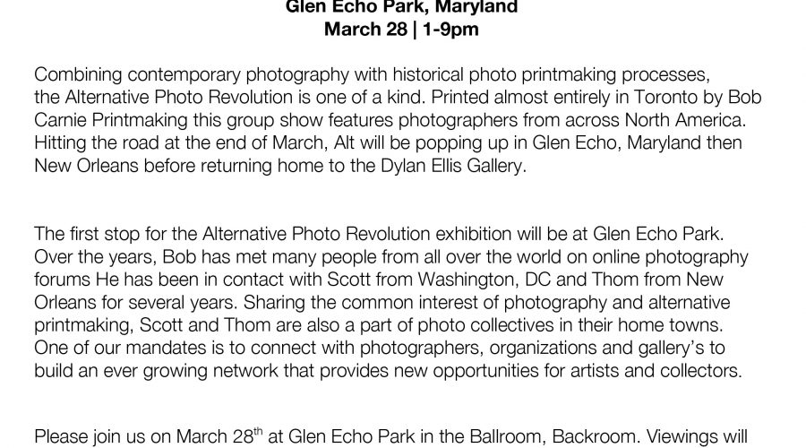 Glen Echo and Photoworks Press Release-1